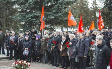 Торжественное  мероприятие, посвящённое 31-й годовщине вывода Советских войск из  Афганистана