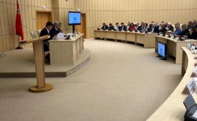 Пленарное заседание Общественной палаты Московской области