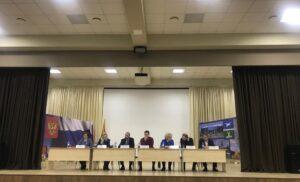 Встреча ВРИП  Главы г.о. Чехов Григория Артамонова с жителями микрорайона Губернский.