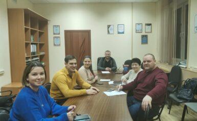 Заседание Совета Общественной палаты г.о.Чехов
