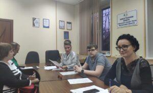 Заседание межкомиссионной рабочей группы по этике и  регламенту