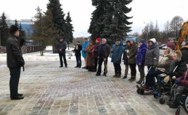Экскурсия по городу Чехов для лиц с  особенностями здоровья из центра «Аппарель»