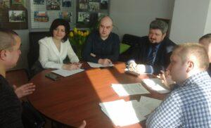 Собеседования с кандидатами в Общественную палату г.о Чехов.