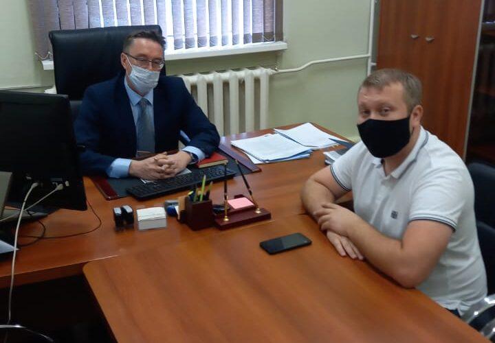 Встреча с и.о. главного врача ГБУЗ МО «Чеховская областная больница»