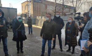Встреча дольщиков ул. Чехова 16