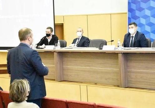 Встреча с министрами Московской области